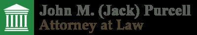 John M. (Jack) Purcell, Attorney at Law Header Logo